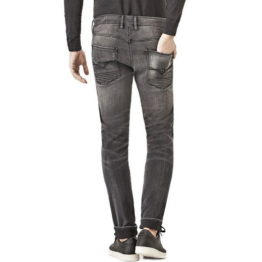 Guess JEANS BIKERSTIL ABRIEBSTELLEN