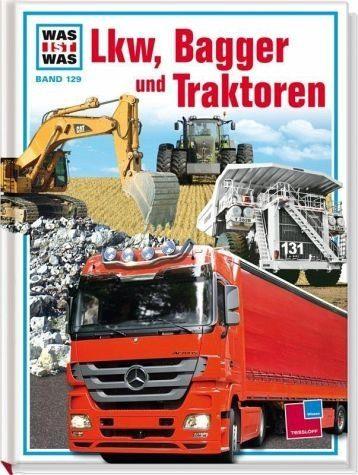 Gebundenes Buch »Lkw, Bagger und Traktoren«