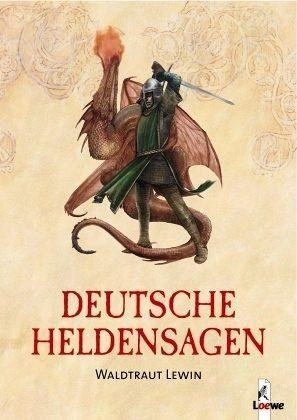 Broschiertes Buch »Deutsche Heldensagen«