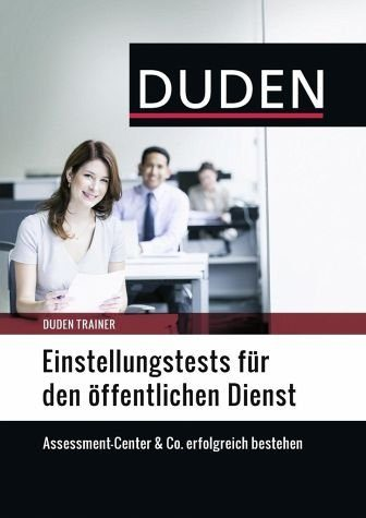 Broschiertes Buch »Duden Trainer - Einstellungstests für den...«