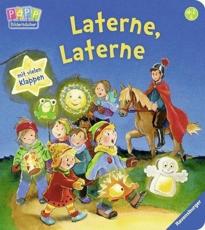 Buch mit Papp-Einband »Laterne, Laterne«