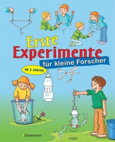 Gebundenes Buch »Erste Experimente für kleine Forscher«