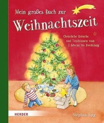Gebundenes Buch »Mein großes Buch zur Weihnachtszeit«