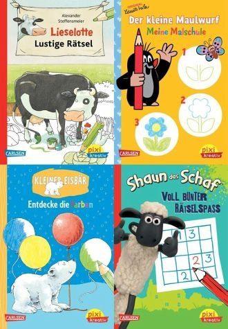 Broschiertes Buch »Pixi kreativ Serie Nr. 20: 4er Bundle: TV- und...«