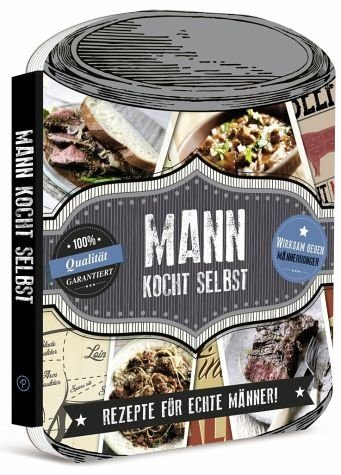 Gebundenes Buch »Mann kocht selbst«