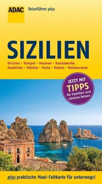 Broschiertes Buch »ADAC Reiseführer plus Sizilien«