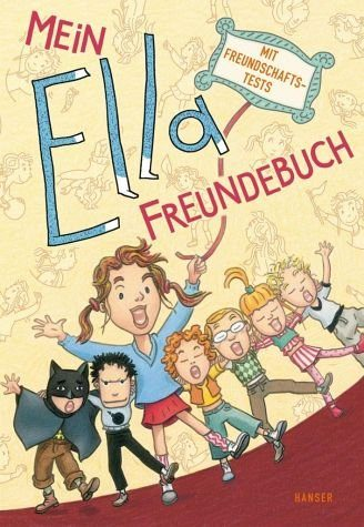 Gebundenes Buch »Mein Ella-Freundebuch«