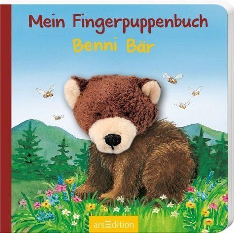 Buch mit Papp-Einband »Mein Fingerpuppenbuch - Benni Bär«