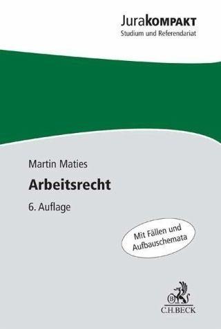 Broschiertes Buch »Arbeitsrecht«