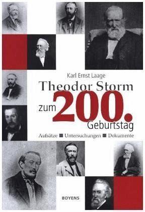 Gebundenes Buch »Theodor Storm zum 200. Geburtstag«