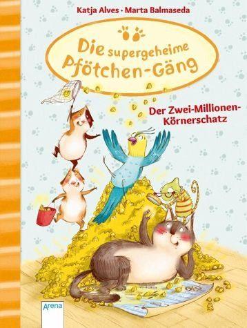 Gebundenes Buch »Der Zwei-Millionen-Körnerschatz / Die...«