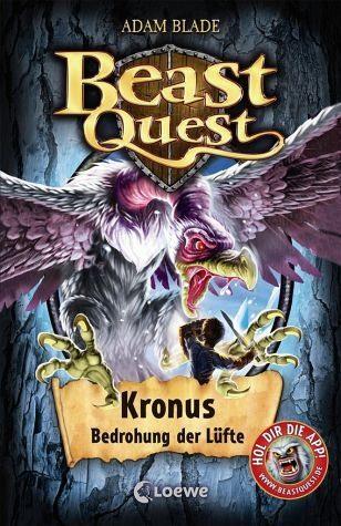 Gebundenes Buch »Kronus, Bedrohung der Lüfte / Beast Quest Bd.47«