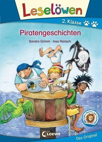 Gebundenes Buch »Leselöwen 2. Klasse - Piratengeschichten«