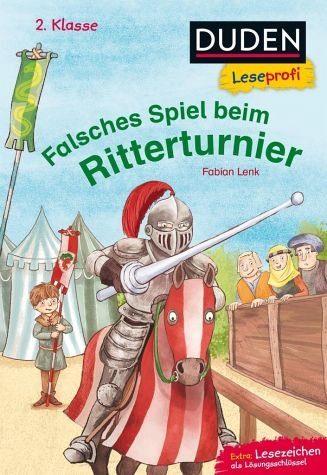 Gebundenes Buch »Duden Leseprofi - Falsches Spiel beim...«