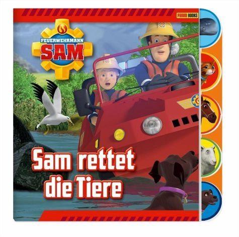 Buch mit Papp-Einband »Feuerwehrmann Sam Pappbilderbuch«