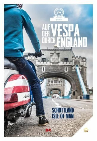 Broschiertes Buch »Auf der Vespa durch England«