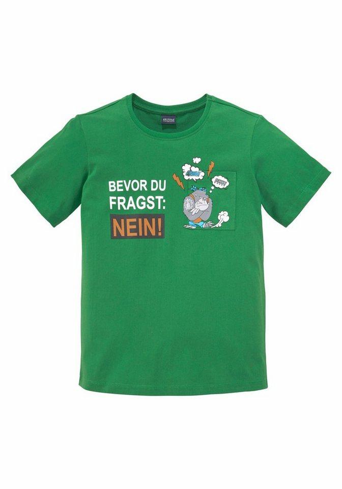 Arizona T-Shirt »BEVOR DU FRAGST: NEIN!« Druck   OTTO