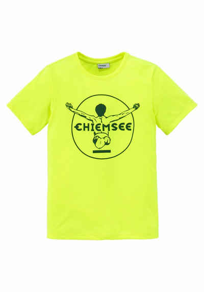 8f59e4eaf95b7a Chiemsee T-Shirt mit Logodruck vorn