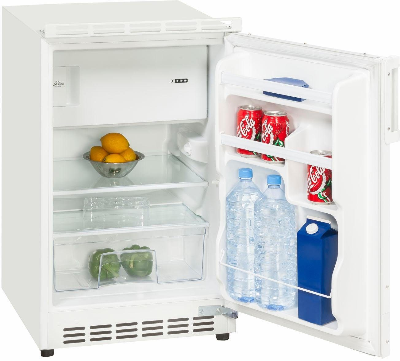 Exquisit Einbaukühlschrank UKS 115-8, 81,5 cm hoch, 49,5 cm breit, A+, dekorfähig