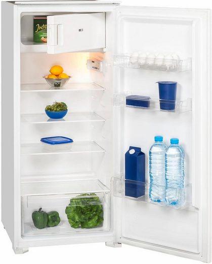 exquisit Einbaukühlschrank EKS 201-4, 122,6 cm hoch, 54,0 cm breit, A+, integrierbar