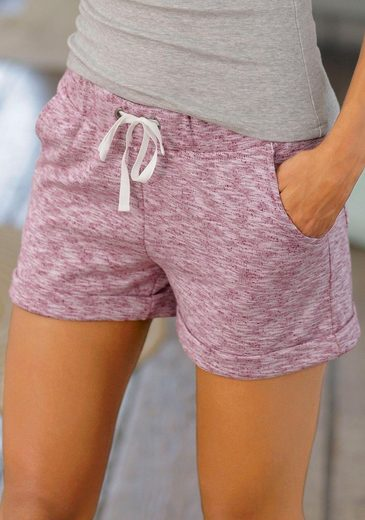 Chiemsee Relaxshorts mit Taschen auf Vorder- und Rückseite