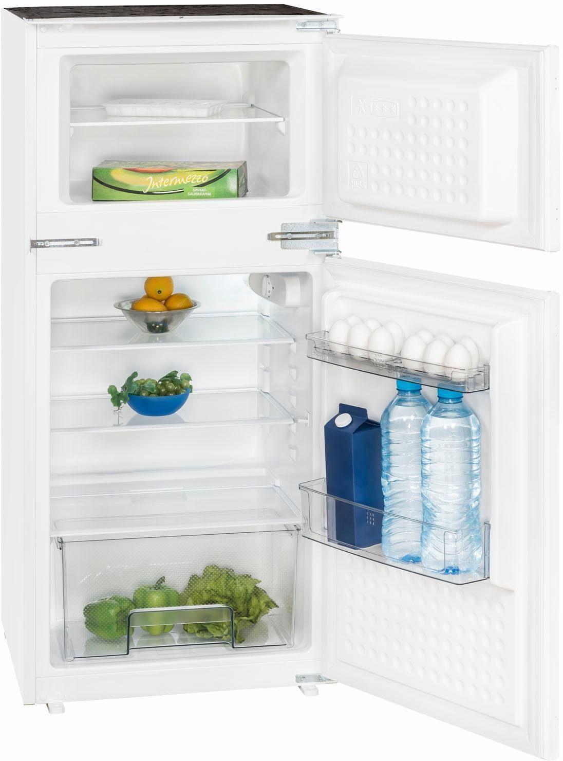 Exquisit Einbaukühlschrank EKGC185-40-11, 122 cm hoch, 54,5 cm breit, Energieeffizienzklasse: A++