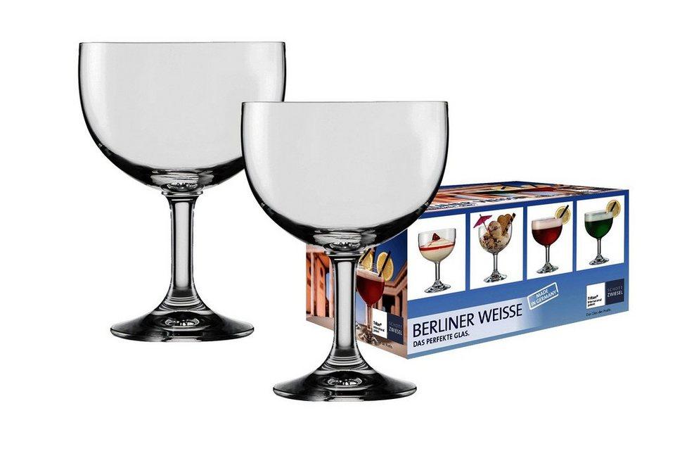 Schott zwiesel berliner weisse glas 2er set kaufen otto for Wei es glas