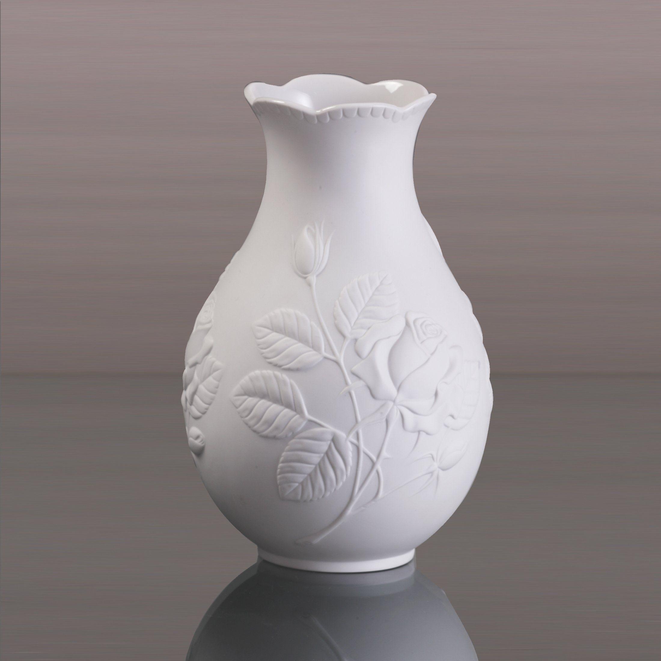 Kaiser Porzellan Vase Rosengarten