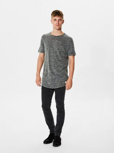 Selected Homme Rundhalsausschnitt- T-Shirt