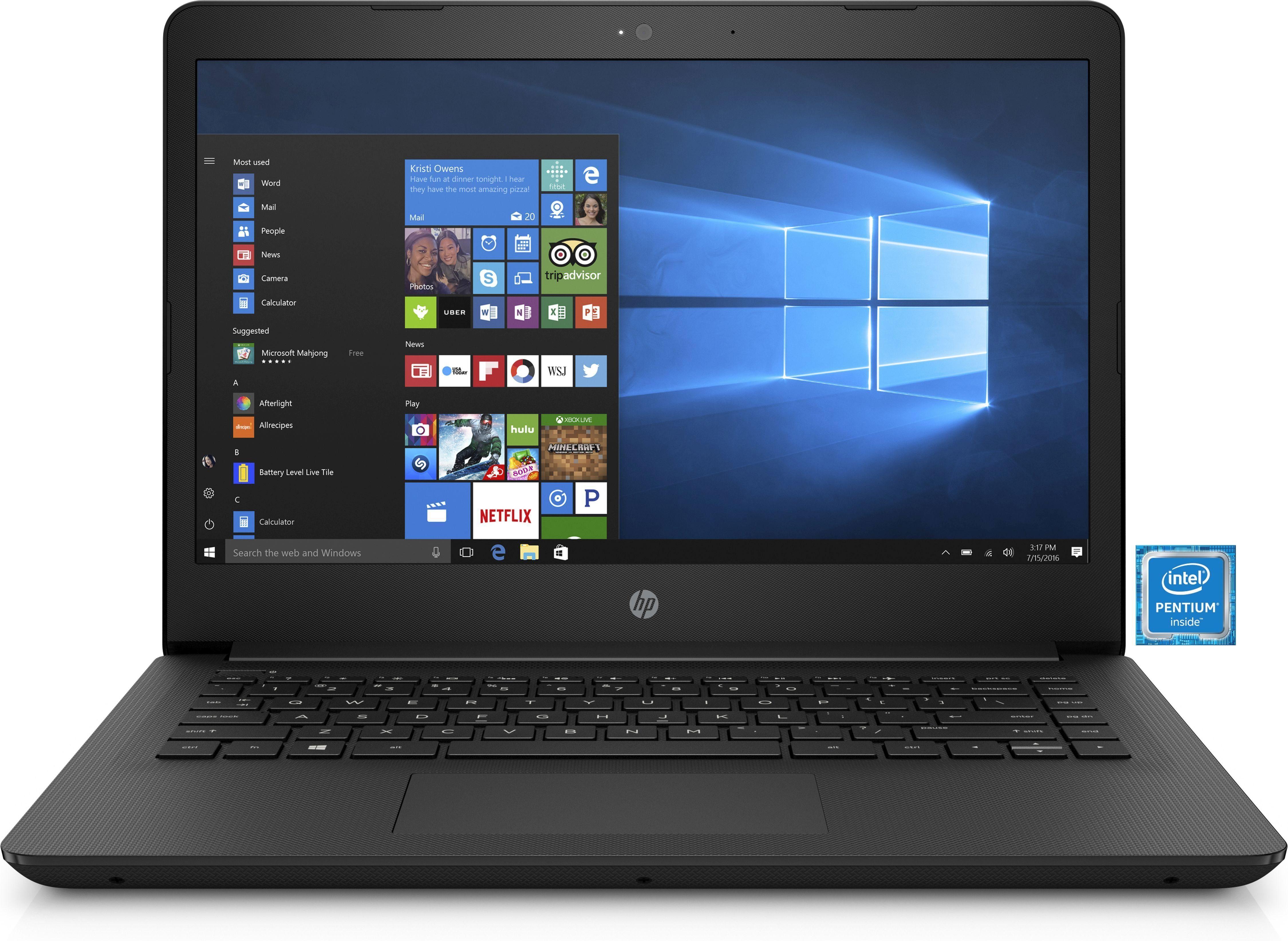"HP 14-bp001ng »Intel Pentium, 35,6 cm (14""), 500 GB, 4 GB«"