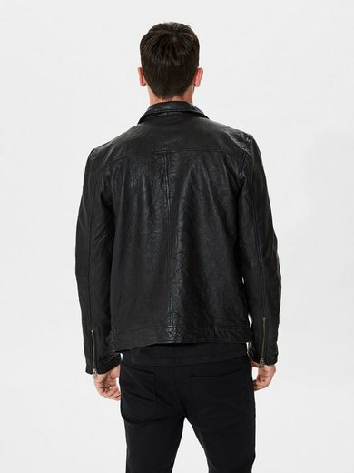 Selected Homme Lamm - Lederjacke