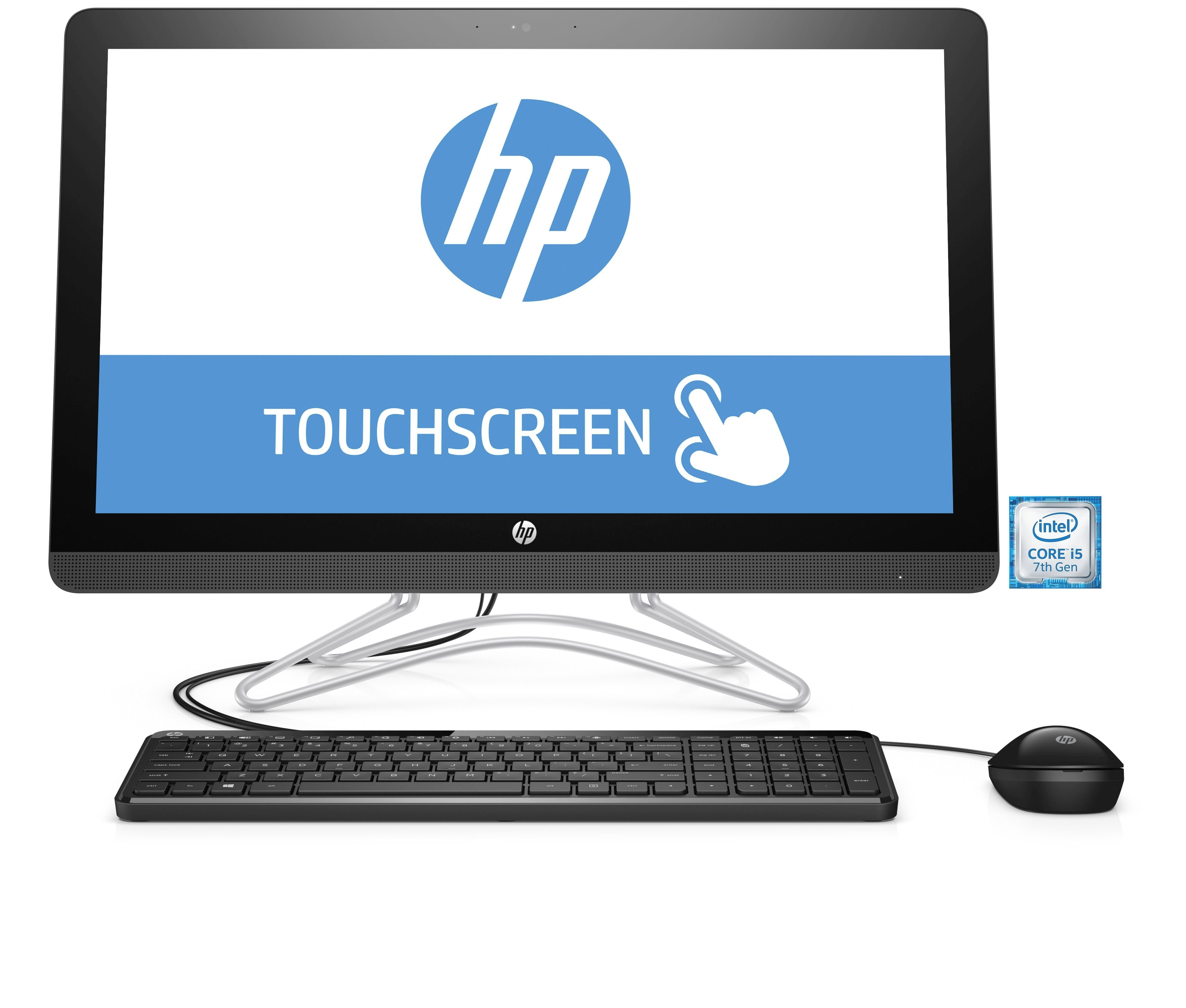 "HP 24-e057ng All-in-One PC »Intel Core i5, 60,45cm (23,8"") Touch, 1 TB, 8 GB«"