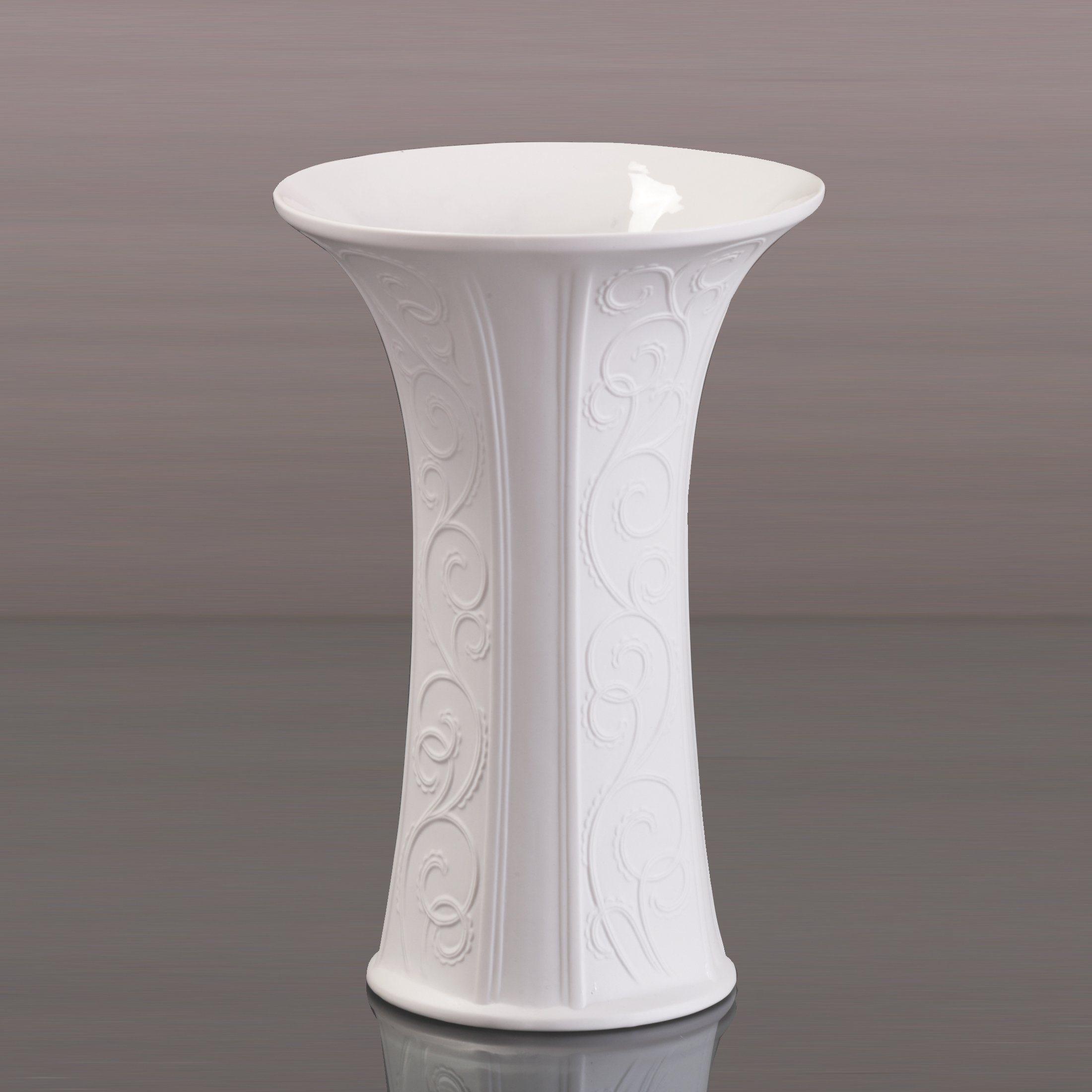 Kaiser Porzellan Vase »Girlande biskuit«