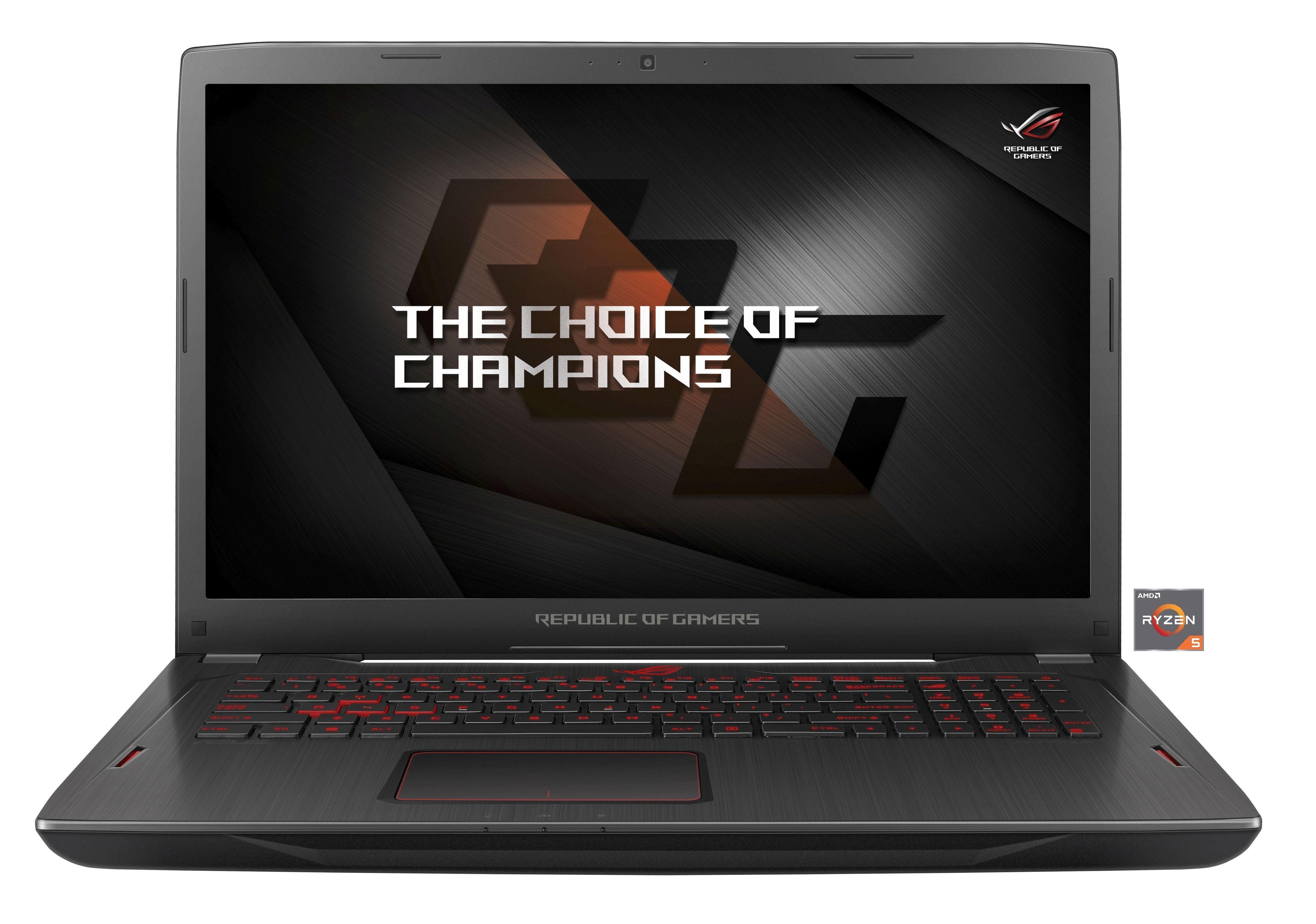 "ASUS GL702ZC-GC0098T Gaming-Notebook »AMD RYZEN 5, 43,9cm (17,3""), 32GB, Win10«"