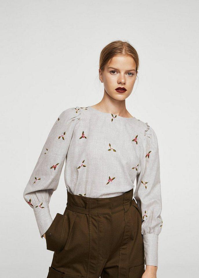 mango bluse mit floraler stickerei online kaufen otto. Black Bedroom Furniture Sets. Home Design Ideas
