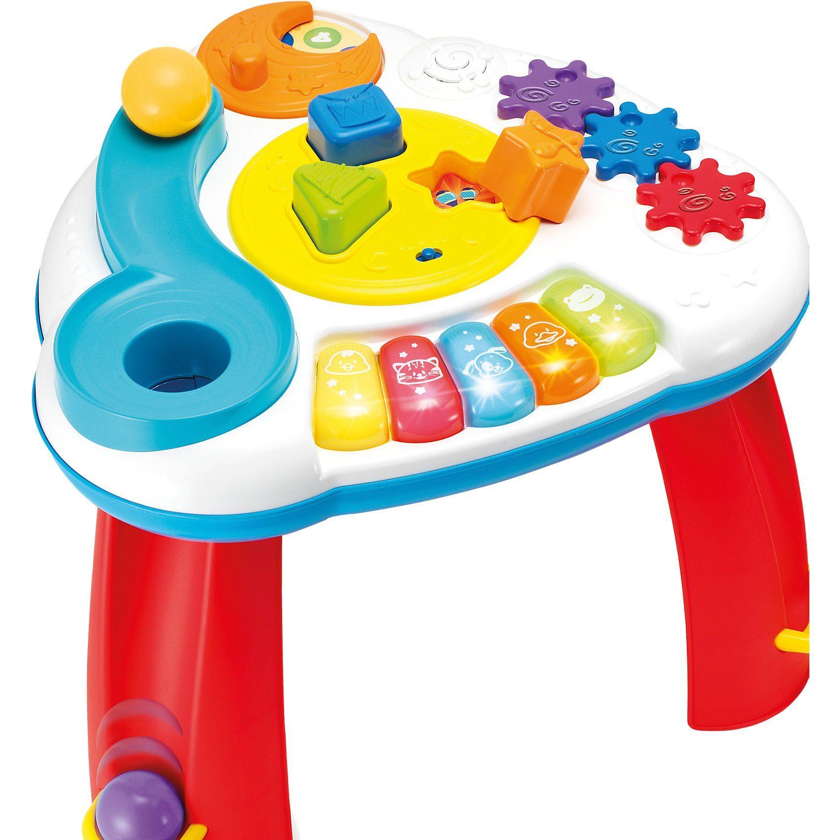 Ball & Formen Spieltisch mit Musik