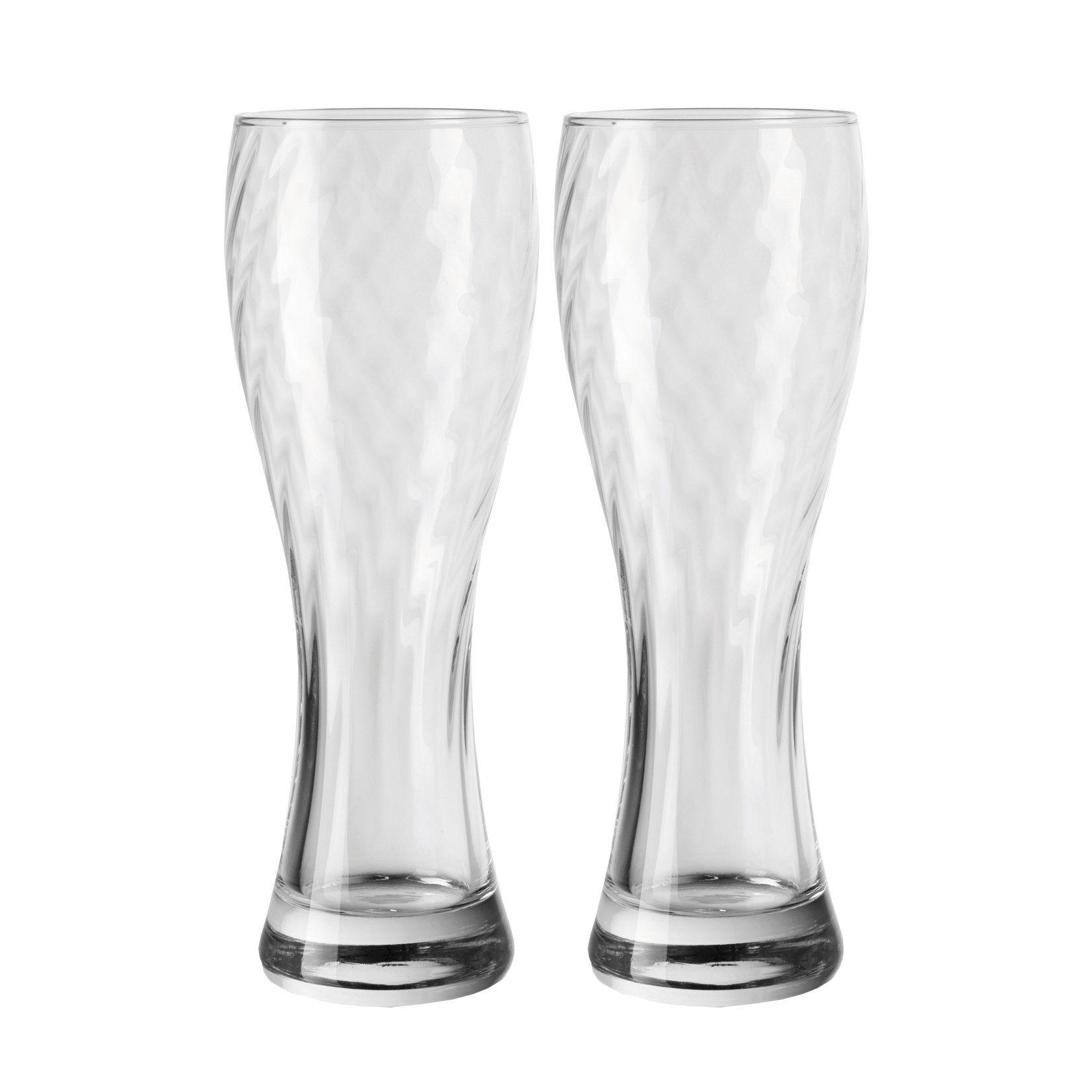 LEONARDO Weizenbierglas 2er-Set »Optik«