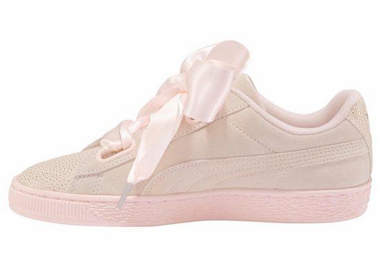 PUMA Suede Heart Bubble Sneaker