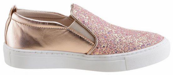Tamaris Slip-On Sneaker, mit trendigen Glitzer