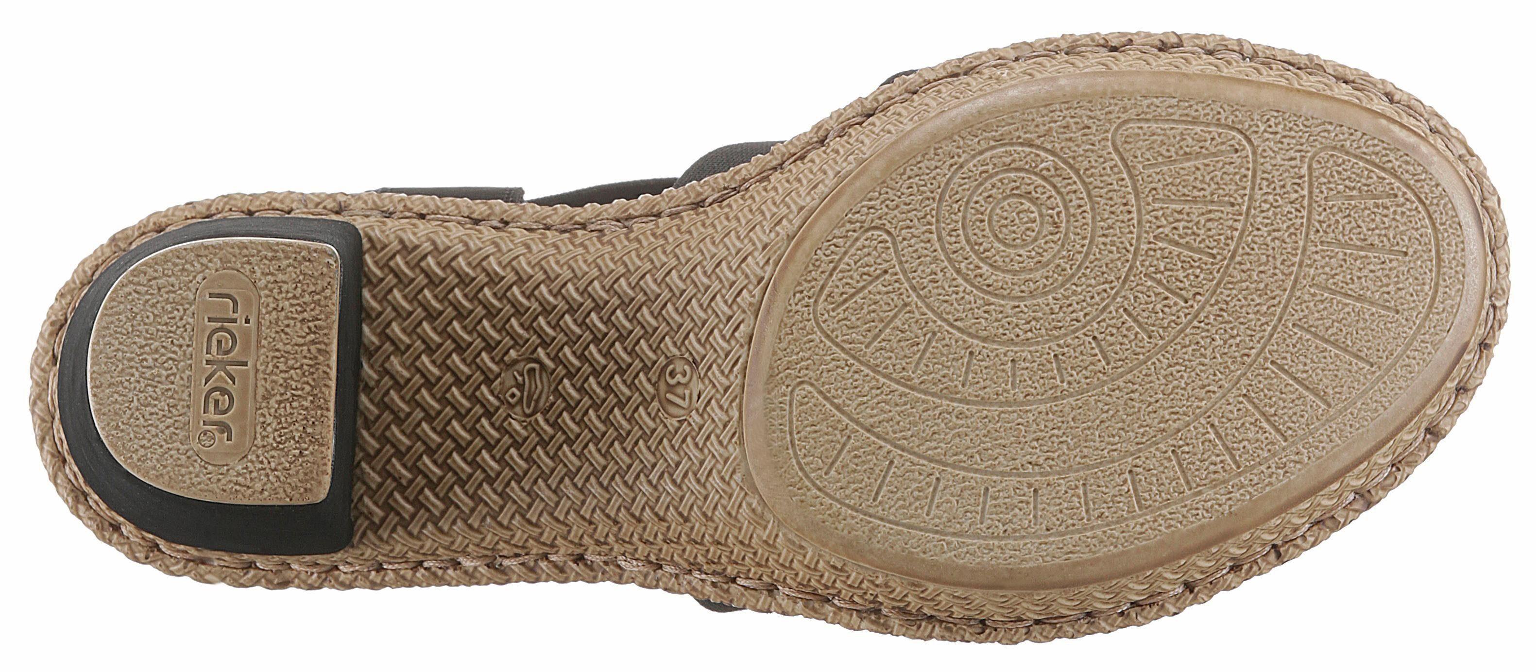 Rieker Strass Verziert Sandalette Mit steinchen 7xwc071Crq