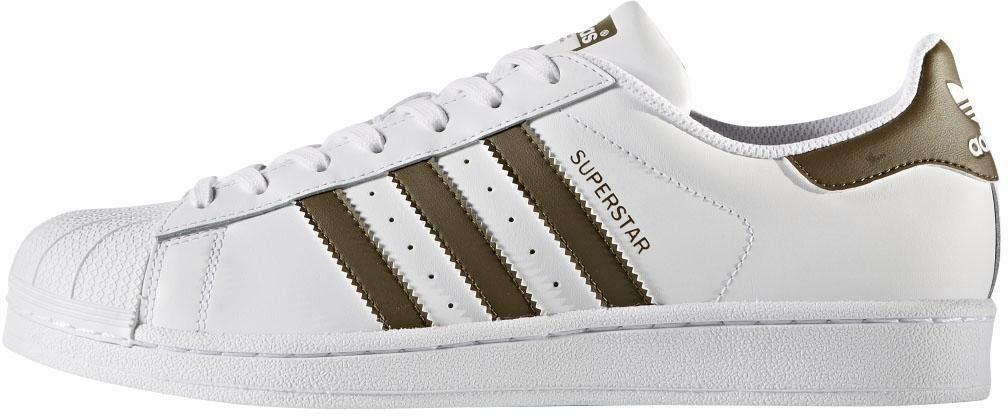 adidas Originals Superstar Unisex Sneaker kaufen  weiß-olivgrün