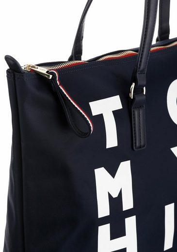 Tommy Hilfiger Shopper POPPY TOTE, aus strapaziefähigem Nylon
