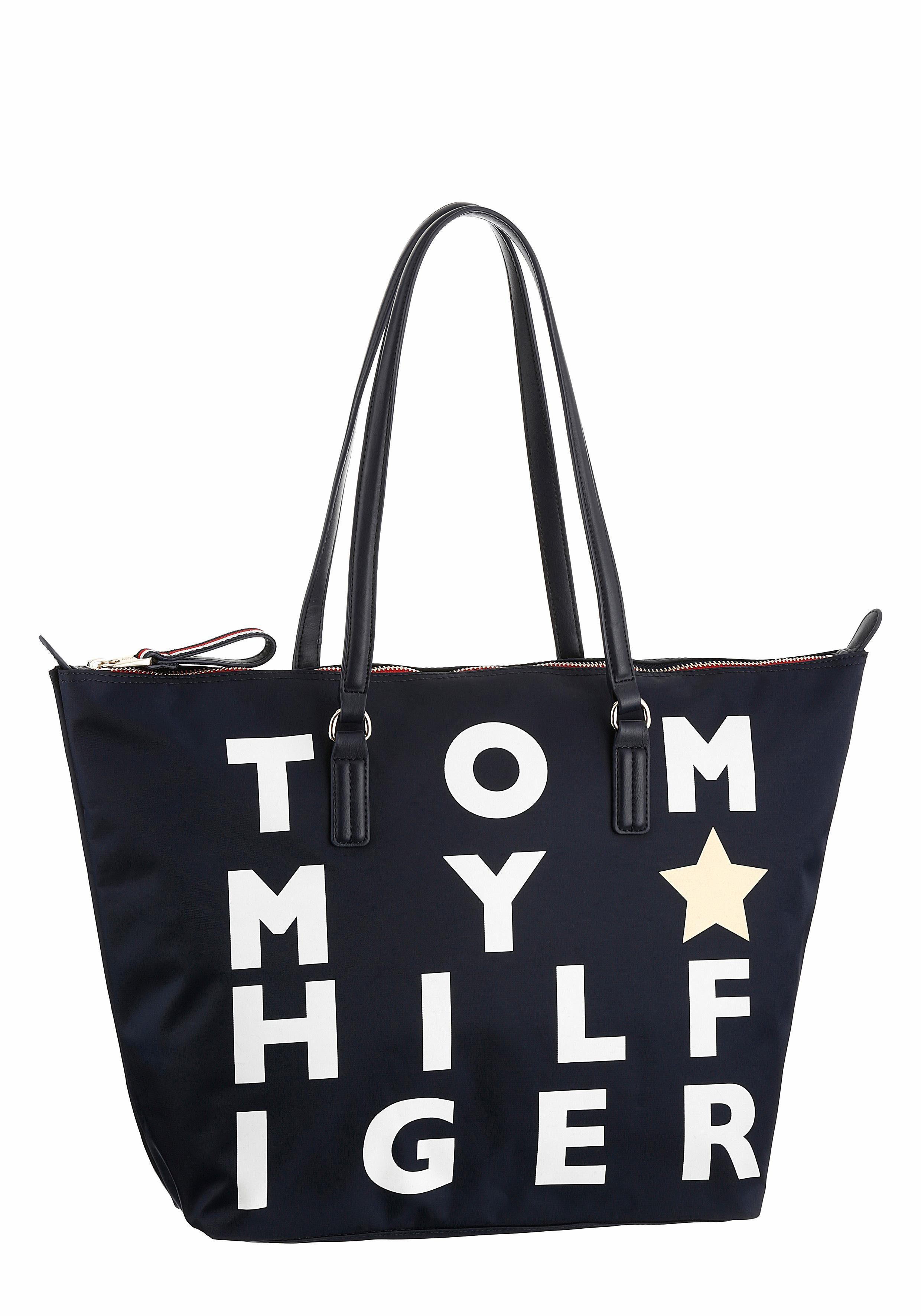 Tommy Hilfiger Shopper »POPPY TOTE«, aus strapaziefähigem Nylon