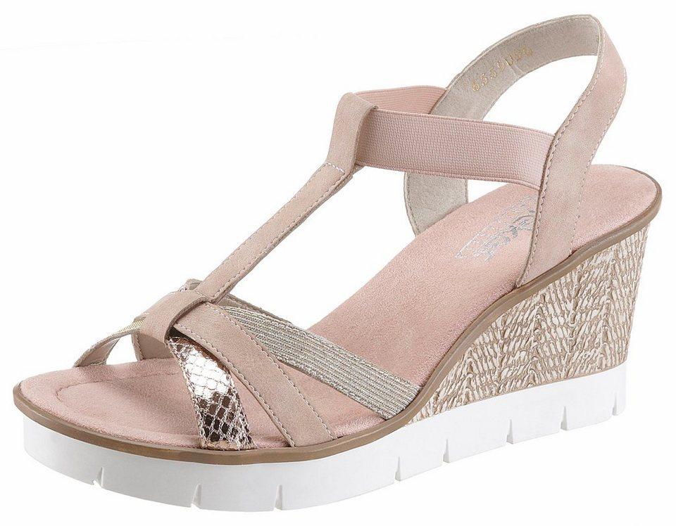 233666b47417 Rieker Sandalette mit Glitzerriemchen kaufen   OTTO