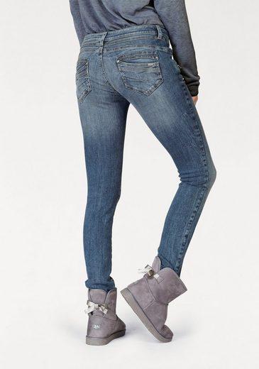 ZABAIONE Skinny-fit-Jeans KIM, mit Stickerei