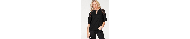 Vero Moda Shirtbluse CHANNON, mit Spitze