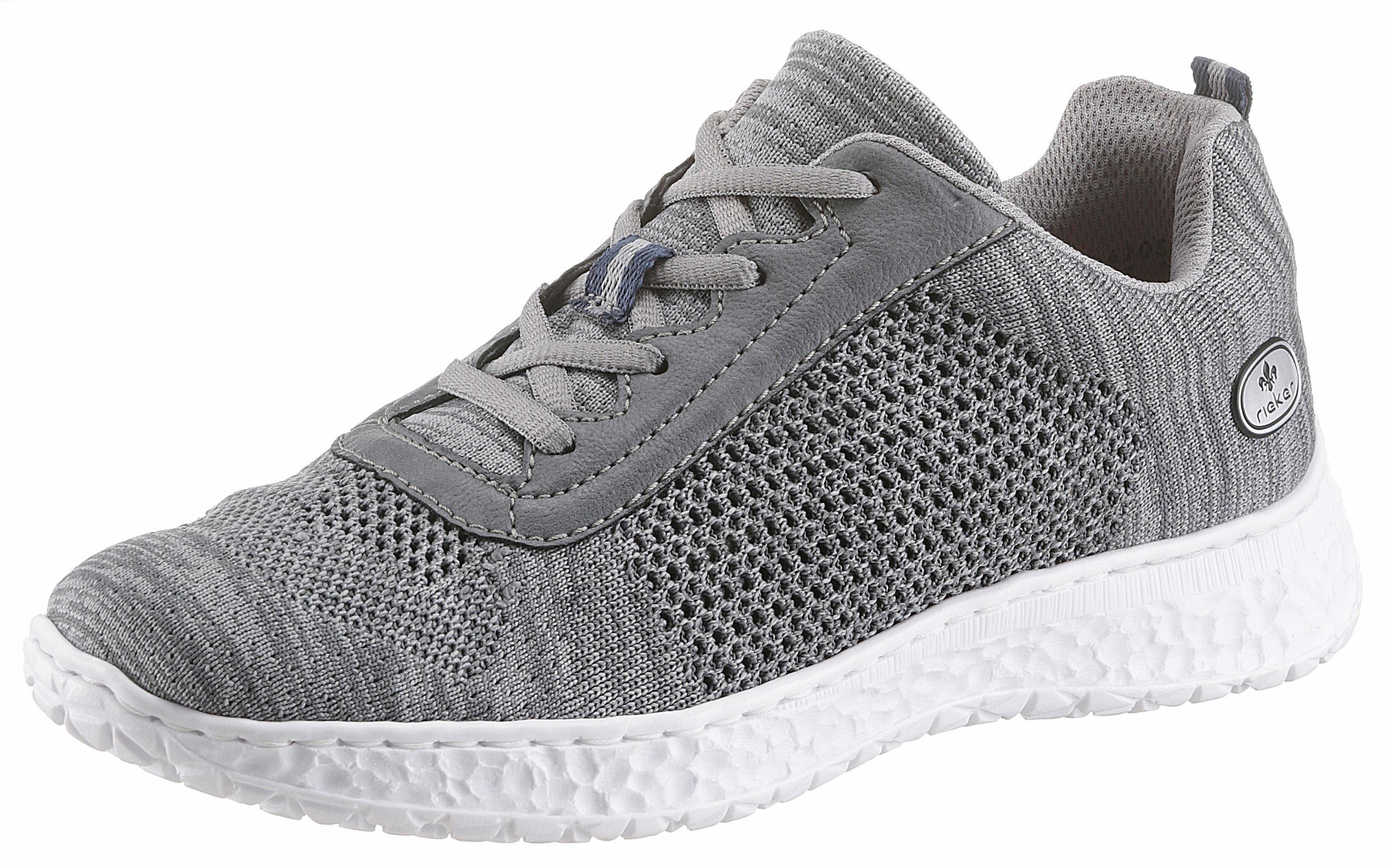 Rieker Sneaker, mit Rieker-Memo Soft online kaufen  grau