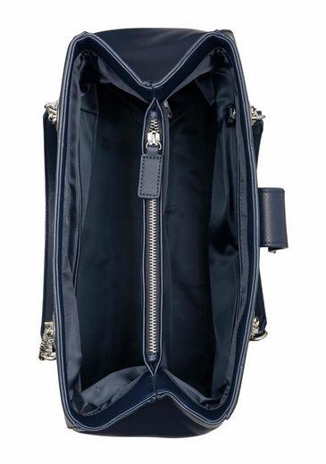 Valentino handbags Henkeltasche DIVINA, mit Kettenapplikationen