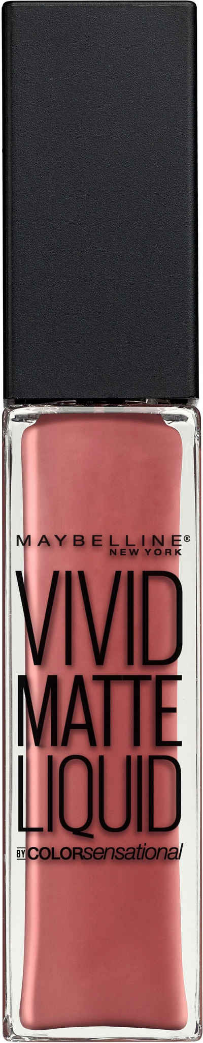 Maybelline New York, »Vivid Matte Liquid Lipstick«, Губная Помада