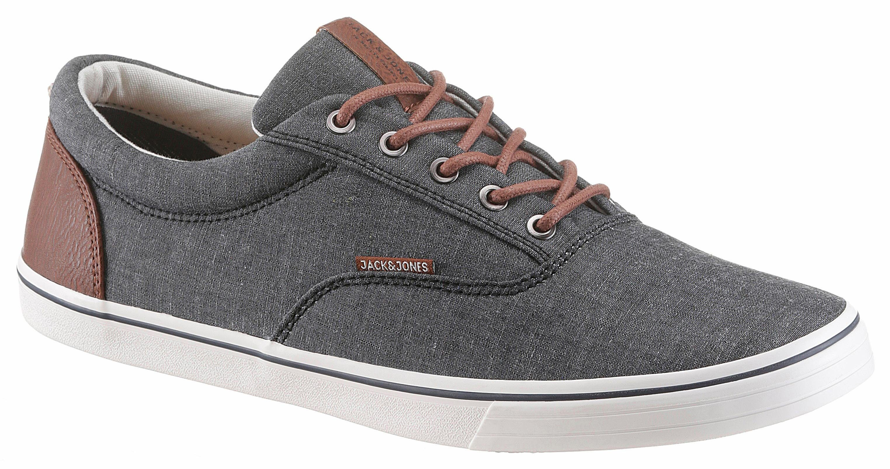 Jack & Jones Jfw Vision Chambray Mix SS Sneaker, im coolen Jeans-Look online kaufen  anthrazit